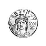 Platinum American Eagle Quarter Ounce (dates our choice