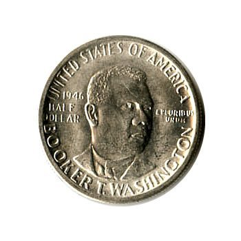 US Commemorative Half Dollar 1946-P Booker T Washington