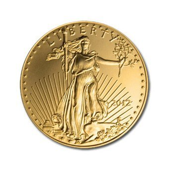 US American Gold Eagle Uncirculated Half Ounce 2012