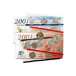 Uncirculated Mint Set 2001