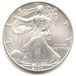 Uncirculated Silver Eagle 2007