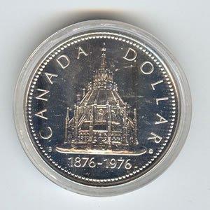 Canada 1976 silver dollar, Library