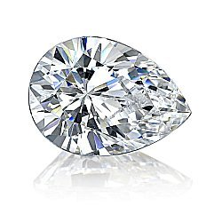 EGL CERT PEAR DIAMOND 1.43 CTW D/SI2