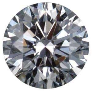 EGL ROUND DIAMOND 1.03 CTW F/SI1