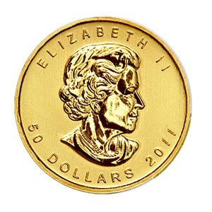 Canada Maple Leaf 1 Ounce Gold Coin 2012