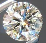 EGL ROUND DIAMOND 2.51 CTW G/SI2