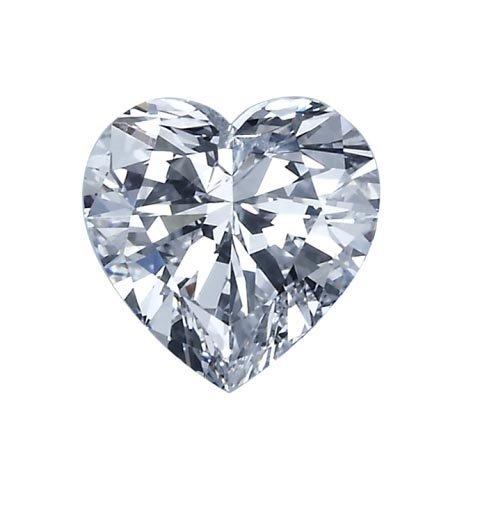 EGL CERT. HEART DIAMOND 1.2 CTW E/SI2