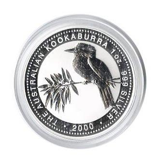Australian Kookaburra 1 oz. Silver 2000