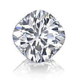 EGL CERT. CUSHION DIAMOND 2.14 CTW D/SI1