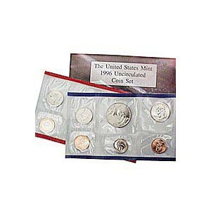 Uncirculated Mint Set 1996
