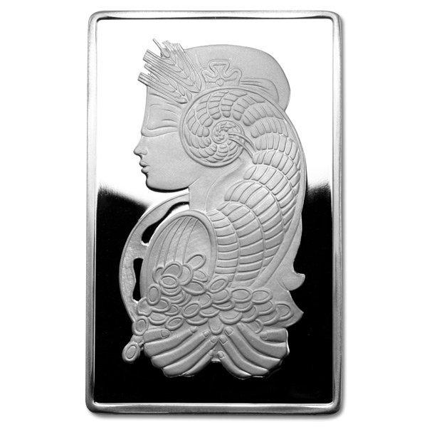 Silver Bars: Pamp Suisse 5 oz Bar .999 fine