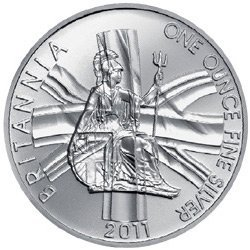 Silver Britannia One Ounce 2011