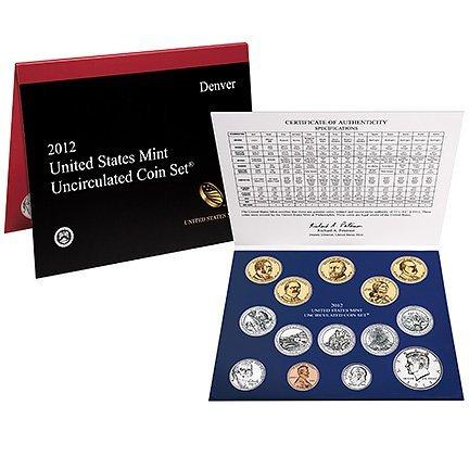 Uncirculated Mint Set 2012