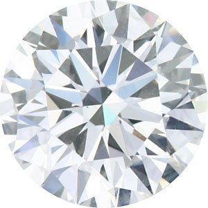 EGL ROUND DIAMOND 2.01 CTW F/SI2
