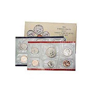Uncirculated Mint Set 1990