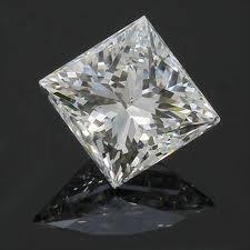 EGL CERT 1.05 CTW PRINCESS CUT DIAMOND E/SI2