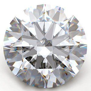 GIA CERT. 1.03 CTW ROUND DIAMOND D/VS1