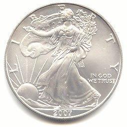 Uncirculated Silver Eagle 2007