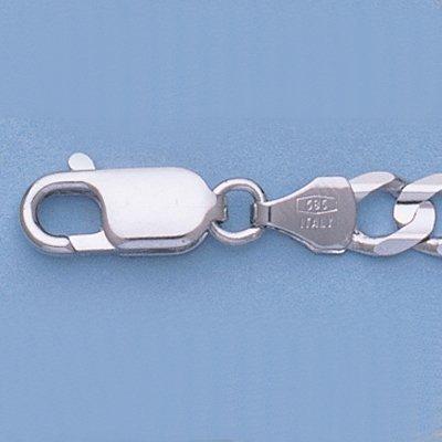 """Genuine 16"""" 14k Gold-White 5.4mm Figaro Chain 16.5g"""