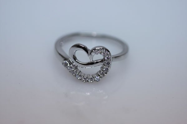 19.1 CTW CZ RING .925 STERLING SILVER