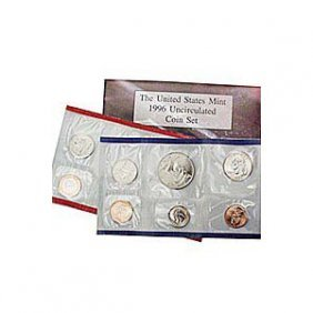 Uncirculated Mint Set 1996