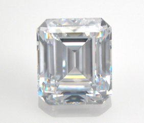 EGL CERT. EMERALD DIAMOND 0.55 CTW H/VS1