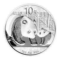 Chinese Silver Panda One Ounce 2011