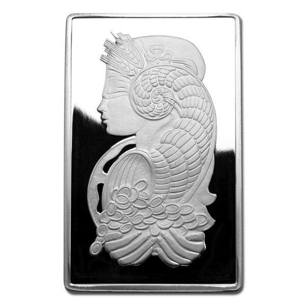 Silver Bars: Pamp Suisse 10 oz Bar .999 fine