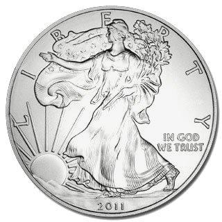 Uncirculated Silver Eagle 2011