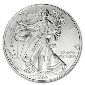 196329591: Uncirculated Silver Eagle 2009