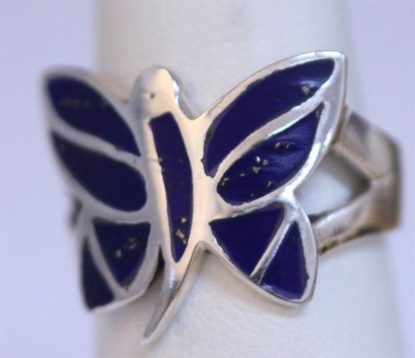 196830770: 23.80 CTW SEMIPRECIOUS RING .925 STERLING SI