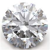 GIA CERT 104 CTW ROUND DIAMOND FVVS1