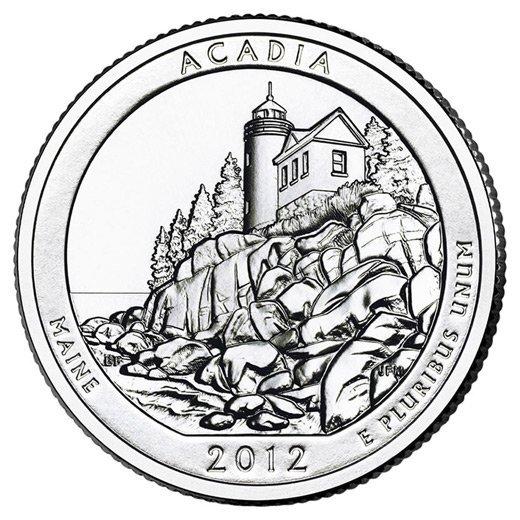 2012 Silver 5oz. Acadia ATB