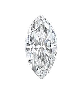 EGL CERT. MARQUISE DIAMOND 1.06 CTW D/SI1