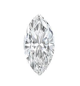 EGL CERT. 1.03 CTW MARQUISE DIAMOND E/SI2