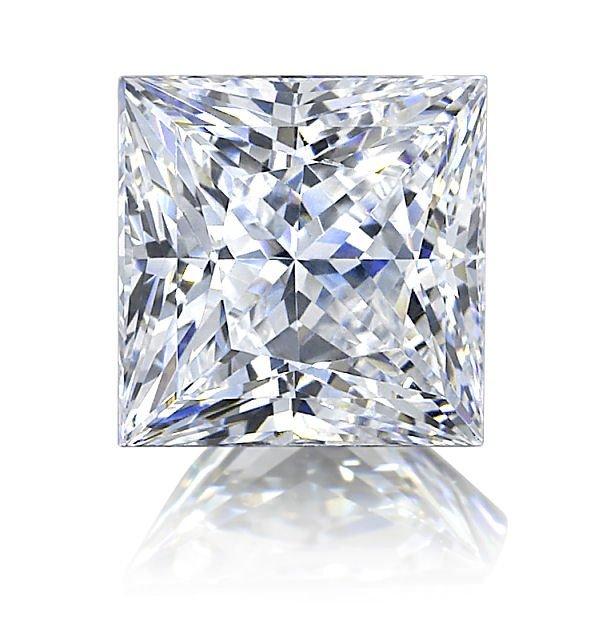 EGL CERT PRINCESS DIAMOND 1.0 CTW D/SI2