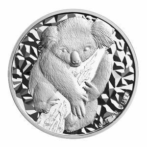 Australian Koala 1 Ounce Silver 2007