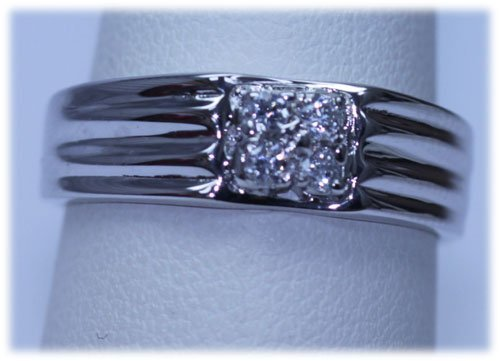 15.48 CTW CZ RING .925 STERLING SILVER