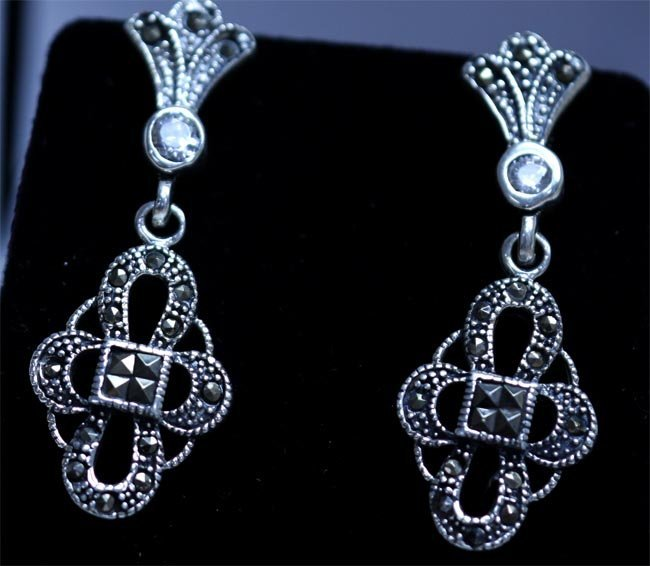 53.20 CTW ANTIQUE LOOKING JEWELRY .925 STERLING SILVER