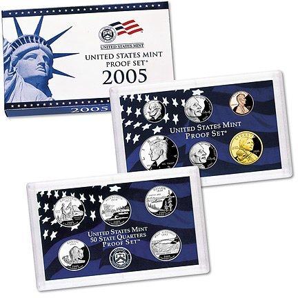 US Proof Set 2005