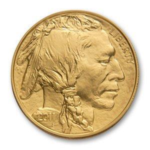 Uncirculated Gold Buffalo Coin One Ounce 2011