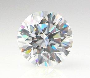 EGL CERT. ROUND DIAMOND 0.80 CTW D/SI2
