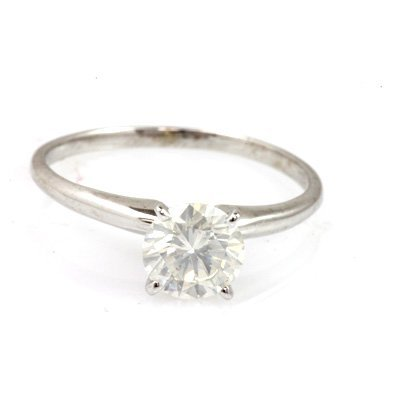 Certified Round SI2/I1, G Solitaire Ring 0.6ctw
