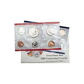 Uncirculated Mint Set 1988