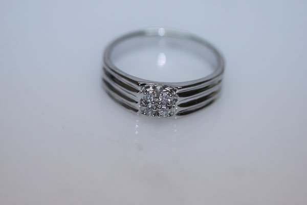 16.0 CTW CZ RING .925 STERLING SILVER