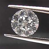 GIA CERT. 0.70 CTW ROUND DIAMOND D/VS1