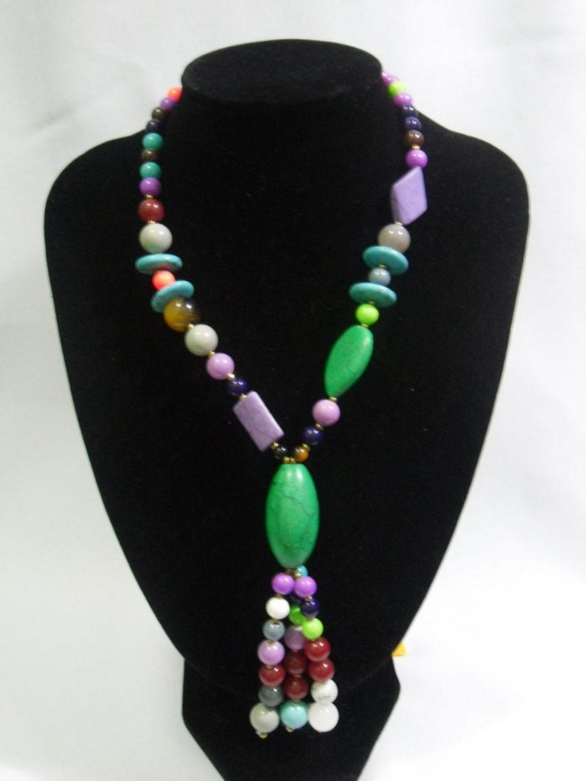 625CTW MULTICOLOR TURQUOISE AND MIXED STONES