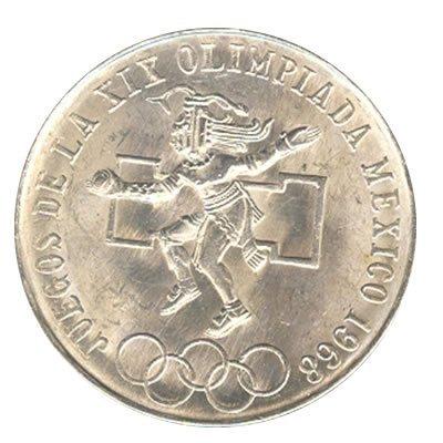 Mexico 25 pesos, 1968 Olympics