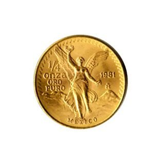 Mexico Gold Quarter Onza (dates our choice)