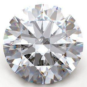 GIA CERT. 1.03 CTW ROUND DIAMOND D/VS1